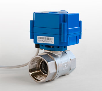 Gas Safety System, our award winning, patterned, Peerless® shut-off ball valve.